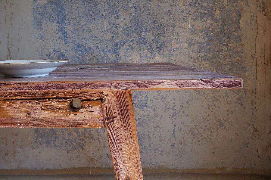 Solenn Design Tisch Knorke 02 FB222 Zarge
